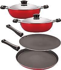 Nirlon Nonstick Rakshabandhan Cookware Gift Set for Sister at Low Price