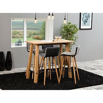 Bartisch Stehtisch Bistrotisch Tisch Holz Esstisch Kuche Bar Mobel