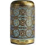 SALKING Diffusore di Oli Essenziali 260ml, Metallo Diffusore di Aromi, Aromaterapia diffusore, Ultrasuoni Umidificatore con 7