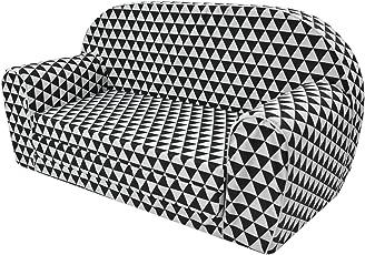 MoMika Kinderschlafsofa Kindersofa mit Bettfunktion Couch Kindermöbel Ausklapp Kindersessel, zum Schlafen und Spielen (0-3 Jahre)