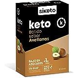 SIKETO - Batido sabor avellanas, Caja con 5 sobres en polvo, Complemento alimenticio para dieta cetogénica (keto)
