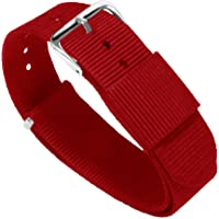 Barton, cinturino per orologio, in nylon balistico (18 / 20 / 22 / 24 mm)