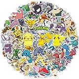 DIWSO Sticker Pakket (160 stuks) Pokemon Stickers voor Hydro Flask, Vinyl Waterdichte Stickers voor Laptop, Skateboard, Water