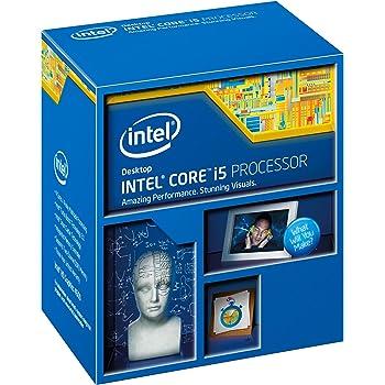 Intel 1150 i5-4460 Ci5 Box Processore da 3,2 Ghz, Nero