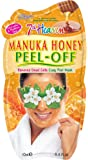 7th Heaven Manuka Honey Easy Peel-Off Mask with Rejuvenating Jasmine and Aloe Vera to Remove Dead Skin Cells - Ideal for Oily, Combo and Problem Skin
