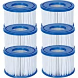 Bestway Flowclear Size VI Replacement Filter Cartridge for Lay-Z-Spa - Miami, Vegas, Palm Springs, Paris, Monaco - 3 x…