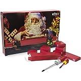 Wiha 9300917L Adventskalender, Werkzeug, Werkstatt, Perfektes Geschenk für Heimwerker, Rot, Standard