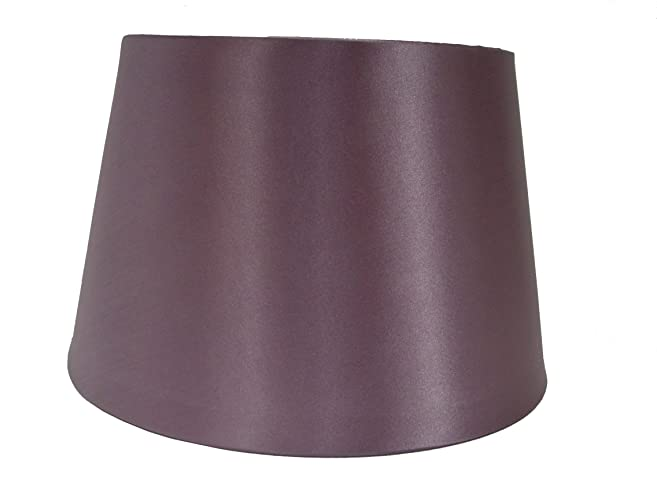 14 satin drum ceiling table lamp shade heather amazon 14 satin drum ceiling table lamp shade heather amazon lighting mozeypictures Gallery