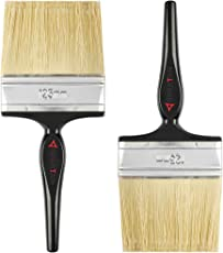 Spartan Paint Brush with Multicolour Handle Set of 2 (125 MM)