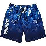 Fortnite Shorts de baño niños   Bañador Gamer Azul Claro u Oscuro