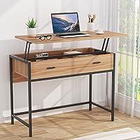 Tribesigns Lift Top Bureau D'ordinateur Bureau D'étude Bureau D'étude pour Étude Ordinateur Portable Table PC Bureau…