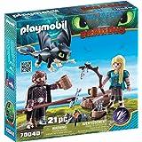Playmobil Dragons 70040 - Hiccup e Astrid con Baby Dragon, dai 4 anni