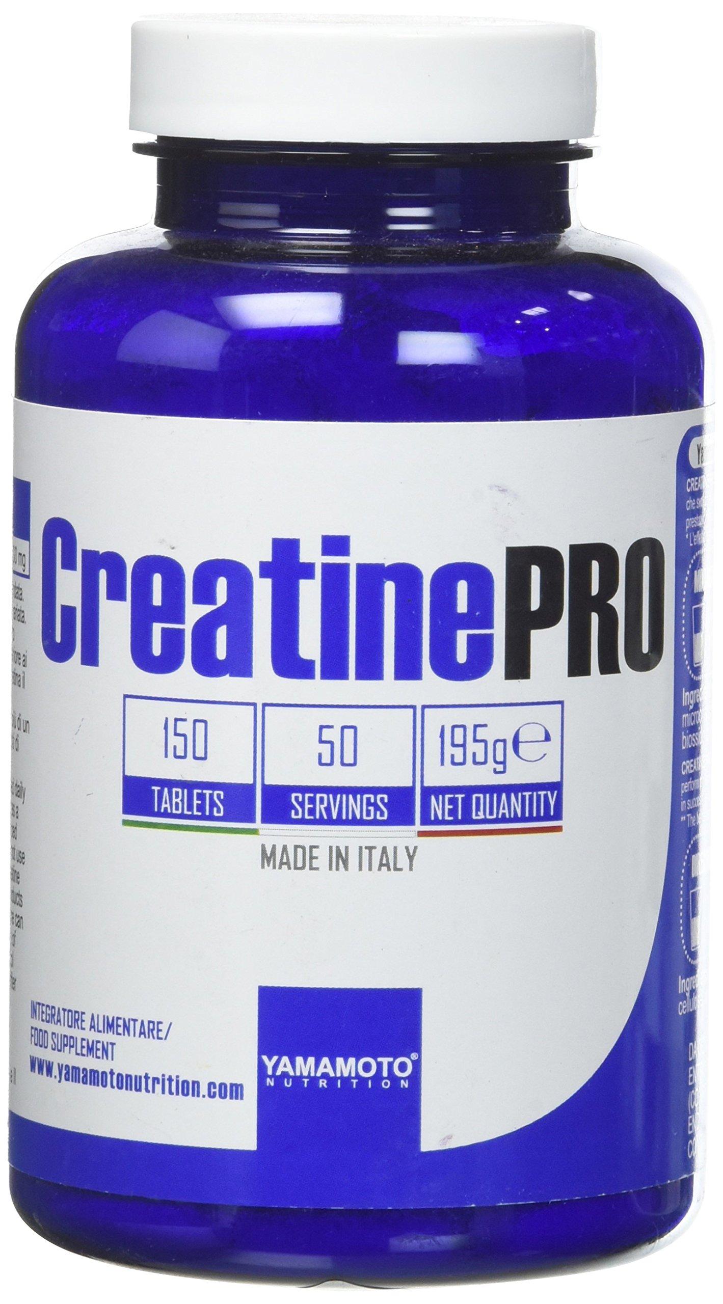 Yamamoto Nutrition Creatine PRO Creapure© Quality integratore alimentare di creatina monoidrato qualità Creapure 150… 1 spesavip