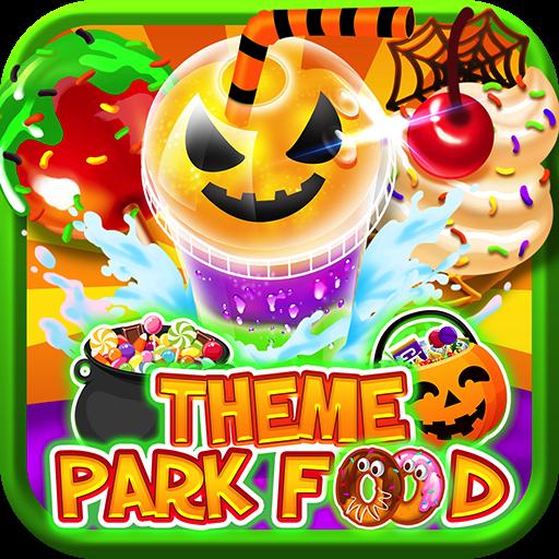 Carnival Halloween Theme.Halloween Theme Park Fair Food Maker Make Dessert Foods