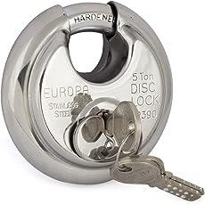 Europa Disc padlock Twin PackP-390 TW SS