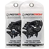 "X2 (Dos) Auténtica Rotatech cadenas de motosierra 3/8"" 1.3mm 52 enlaces 35cm Compatible con Oregon, Bosch, dollmar, Hitachi,"