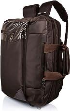"Suntop Dexter 16 Ltrs Chocolate Brown Colour For Upto 15.6"" Laptop Bag"