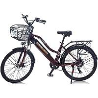 "Hyuhome 2021 Upgrade Elektrofahrräder für Frauen Erwachsene, All Terrain 26""36V 250 / 350W E-Bike-Fahrräder Abnehmbare…"