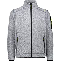 CMP Knit Tech Mélange Fleece Jacket Giacca di pile Uomo