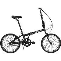 FabricBike Vélo Pliant, Cadre en Alliage, Mono-Vitesse, 3 Couleurs