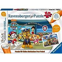 Ravensburger tiptoi Spiel 00069 Puzzle für kleine Entdecker: Paw Patrol - 2x24 Teile Kinderpuzzle ab 4 Jahren, für…