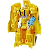 Transformers Spielzeuge Cyberverse Action Attackers 1-Step Changer Bumblebee Action-Figur – Wiederholbare Sting Shot…