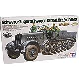 Tamiya 300035239 - 1:35 WWII Sonderkraftfahrzeug 9 Famo Halbkette, 18 ton (8)