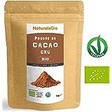 Poudre de Cacao Cru Bio 1kg | Organic Raw Cacao Powder | 100% Naturel et Pur | Produit au Pérou par la Plante Theobroma Cacao | Superfood riche en antioxydants, minéraux et vitamines | NATURALEBIO