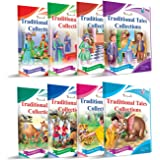 English Story Book Collections for kids set of 8 By InIkao : A Total of 120 Panchatantra & Traditional Short Stories with Pic