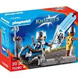Playmobil Knights 70290 Gift Set with Knight Incl. Gift Tag On The Box, for Ages 4+