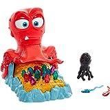 Poulpe au Trésor jeu de société avec pierres précieuses et nuage d'encre, pour enfants à partir de 5 ans, GMH36