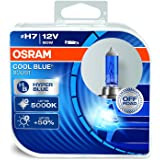 OSRAM 62210CBB Cool Blue Boost H7, Lampadina Alogena Iper Blu per Faro ,12 V, Duobox (2 unità)