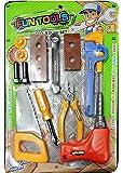 Tickles Tool Set for Kids Repairing Kit (Random Color) (Green) 3 yrs Plus