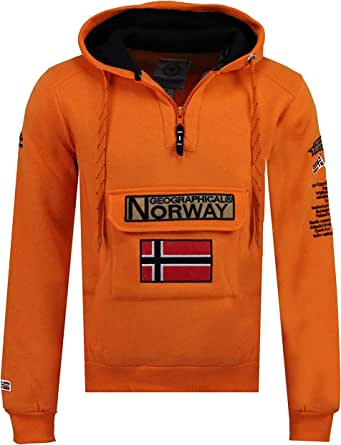Geographical Norway Felpa da Uomo Gymclass Men