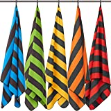 Fit-Flip XXL beach towel – microfibre towel, large and lightweight – microfibre beach towel XL 200x90 & 160x80cm, swim and tr