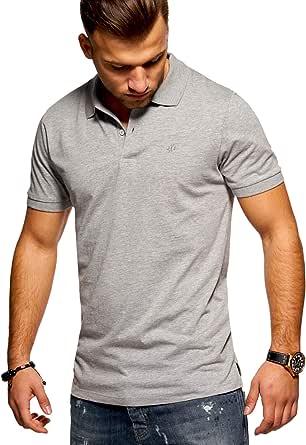 Jack & Jones Polo Homme Chemise Manches Courtes Shirt T-Shirt Haut Unicolore