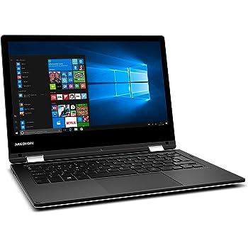 """Medion MD 60686 - Ordenador portátil convertible 11.6"""" HD (Intel Atom x5-Z8350, RAM de 4GB, 64GB de almacenamiento, Intel HD Graphics, Windows 10) blanco - teclado QWERTY Español"""
