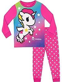 Tonidoki Pijamas de Manga Corta para niñas Unicornio