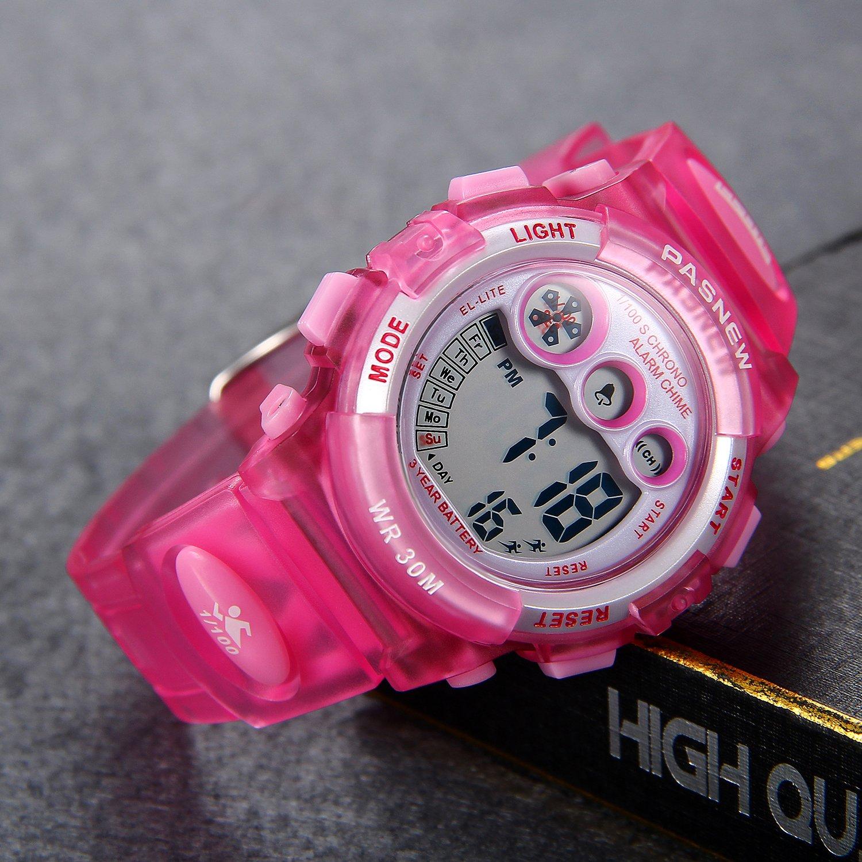 3445e9b83538 Lancardo Reloj Deportivo Resistente al Agua de 30M de Multifunción ...