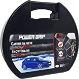 POWER GRIP, Catene da Neve Auto 9 mm, Misura 095, Omologate TUV e GS Onorm, 09B095