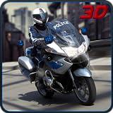 Motorrad-Polizist extreme 3D Chase