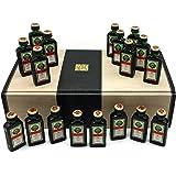 "Jägermeister Geschenkset 18x 0,02l""Kurze"" in edler Geschenkverpackung."