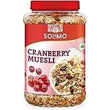 Amazon brand - Solimo Cranberry Muesli, 1kg