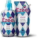 Godrej Ezee Liquid Detergent - Winterwear, No Soda Formula, 2kgs (1 bottle & 1 refill)