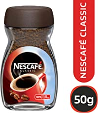 Nescafé Classic Coffee, 50g Glass Jar