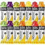 SIS Go Isotonic Energie Gel 60ml Schläuche - Gemischte Geschmackssorten (Packung mit 14)