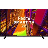 Redmi 126 cm (50 inches) 4K Ultra HD Android Smart LED TV X50 L50M6-RA (Black) (2021 Model)