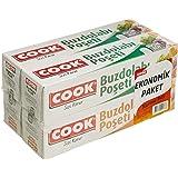 Cook Buzdolabı Poşeti 3+1 Ekonomik Paket Karma 2 Ad Küçük Boy+2 Ad Orta Boy
