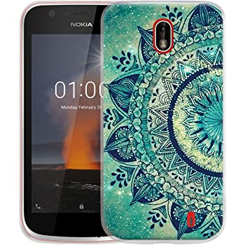 30f378bf61 Cmid Nokia 1 Case, Slim Shockproof TPU Rubber Gel Flexible Soft Silicone  Protective Case Cover for Nokia 1 (A-02)