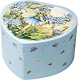 """Trousselier 30108 - Spieluhr """"Herz Fairy blue"""" (Spieldosen, Musikdosen, Spieluhren), das ideale Geschenk"""